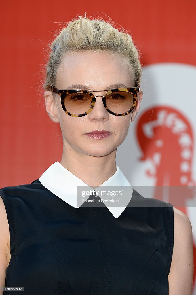Actress <a gi-track='captionPersonalityLinkClicked' href=/galleries/search?phrase=Carey+Mulligan&family=editorial&specificpeople=2262681 ng-click='$event.stopPropagation()'>Carey Mulligan</a> attends the Miu Miu Women's Tales during the 70th Venice International Film Festival on August 29, 2013 in Venice, Italy.