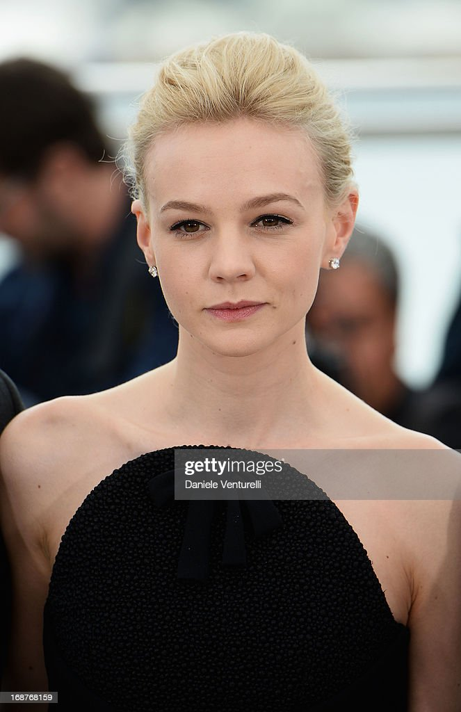 Actress Carey Mulligan attends the photocall for 'The Great Gatsby' at the 66th Annual Cannes Film Festival at Palais des Festivals on May 15, 2013 in Cannes, France.