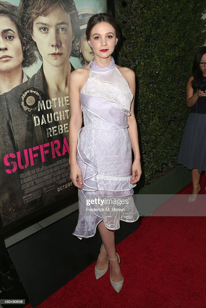 "Premiere Of Focus Features' ""Suffragette"" - Arrivals"