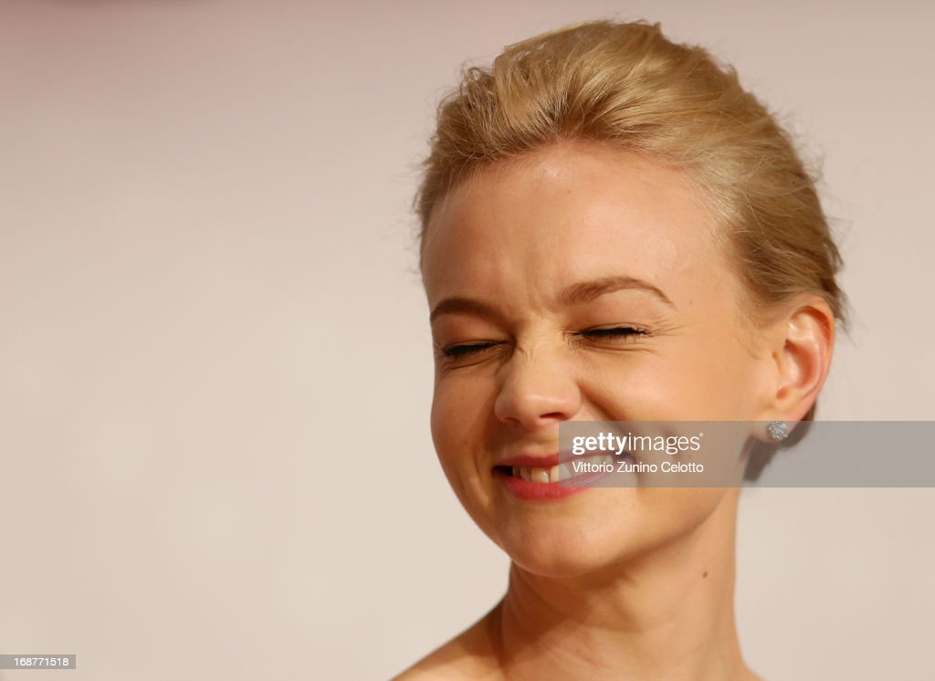 Actress <a gi-track='captionPersonalityLinkClicked' href=/galleries/search?phrase=Carey+Mulligan&family=editorial&specificpeople=2262681 ng-click='$event.stopPropagation()'>Carey Mulligan</a> attends the 'The Great Gatsby' Press Conference during the 66th Annual Cannes Film Festival at the Palais des Festivals on May 15, 2013 in Cannes, France.