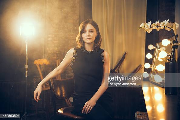 Actress Carey Mulligan for The Hollywood Reporter on April 1 2015 in New York City PUBLISHED IMAGE