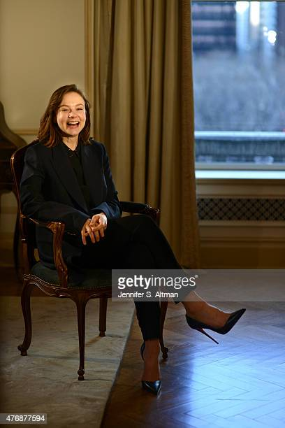 Actress Carey Mulligan is photographed for Los Angeles Times on April 6 2015 in New York City