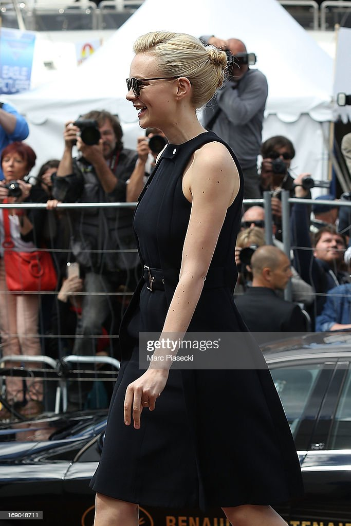 Actress Carey Mulligan is seen during the 66th Annual Cannes Film Festival on May 19, 2013 in Cannes, France.