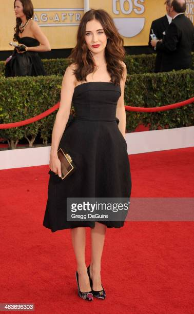 Actress Carice van Houten arrives at the 20th Annual Screen Actors Guild Awards at The Shrine Auditorium on January 18 2014 in Los Angeles California