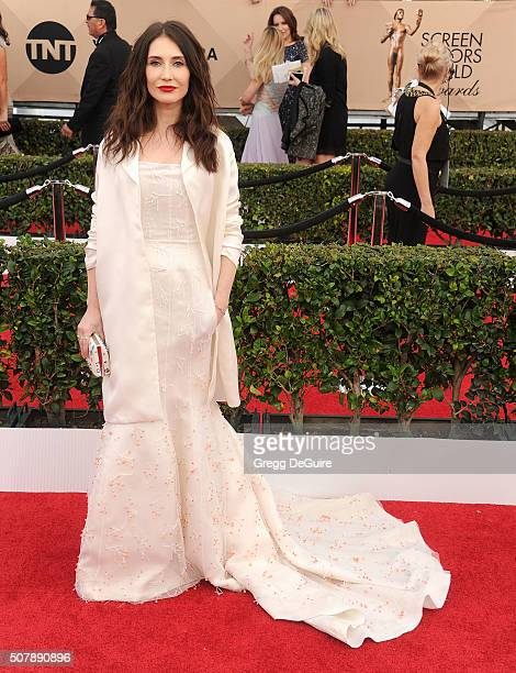 Actress Carice van Houten arrives at the 22nd Annual Screen Actors Guild Awards at The Shrine Auditorium on January 30 2016 in Los Angeles California