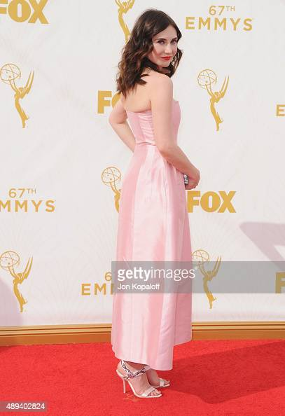 Actress Carice van Houten arrives at the 67th Annual Primetime Emmy Awards at Microsoft Theater on September 20 2015 in Los Angeles California