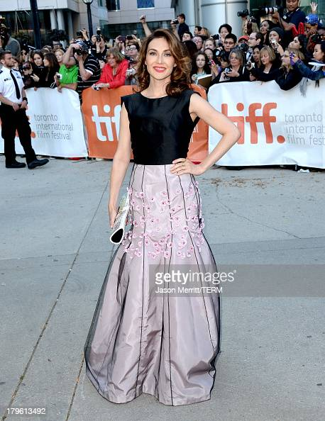 Actress Carice van Houten arrives at 'The Fifth Estate' premiere during the 2013 Toronto International Film Festival on September 5 2013 in Toronto...