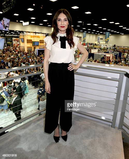 Actress Carice van Houten at the 'Game Of Thrones' autograph signing during ComicCon International 2015 at the San Diego Convention Center on July 10...