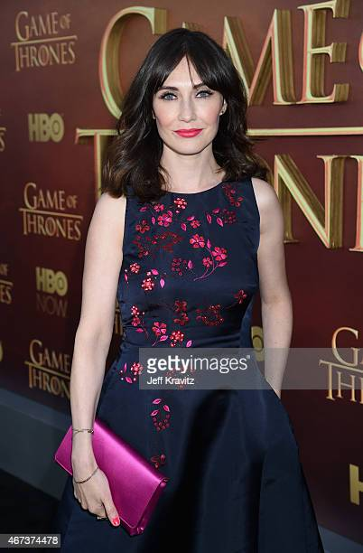 Actress Carice van Houten attends HBO's 'Game of Thrones' Season 5 Premiere and After Party at the San Francisco Opera House on March 23 2015 in San...