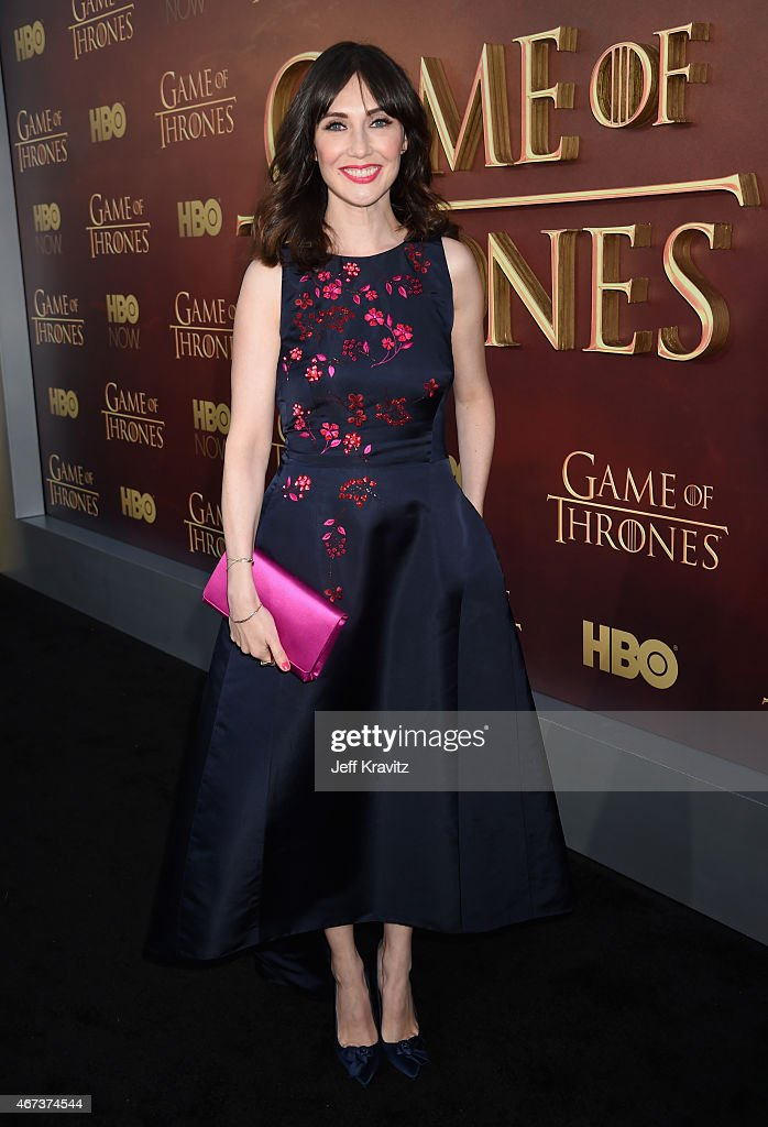 Actress <a gi-track='captionPersonalityLinkClicked' href=/galleries/search?phrase=Carice+van+Houten&family=editorial&specificpeople=2641238 ng-click='$event.stopPropagation()'>Carice van Houten</a> attends HBO's 'Game of Thrones' Season 5 Premiere and After Party at the San Francisco Opera House on March 23, 2015 in San Francisco, California.