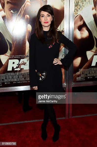 Actress Carice van Houten attends 'Race' New York Screening at Landmark's Sunshine Cinema on February 17 2016 in New York City
