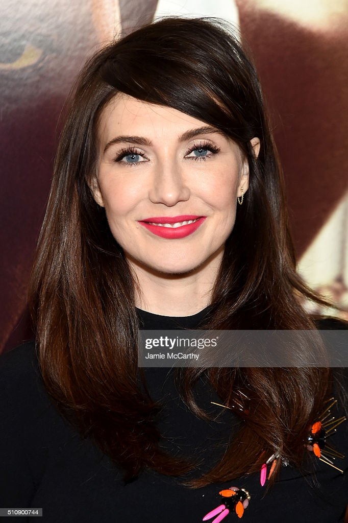 Actress <a gi-track='captionPersonalityLinkClicked' href=/galleries/search?phrase=Carice+van+Houten&family=editorial&specificpeople=2641238 ng-click='$event.stopPropagation()'>Carice van Houten</a> attends 'Race' New York Screening at Landmark's Sunshine Cinema on February 17, 2016 in New York City.