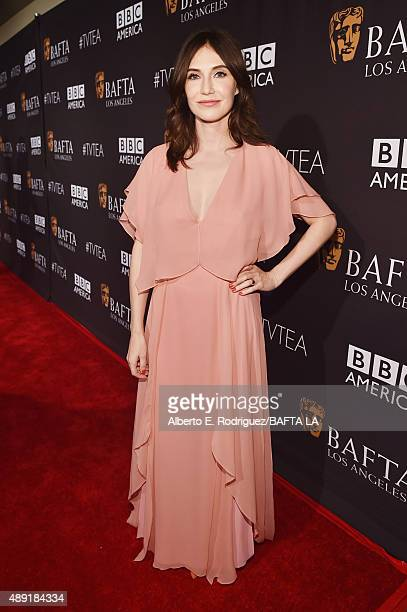Actress Carice van Houten attends the 2015 BAFTA Los Angeles TV Tea at SLS Hotel on September 19 2015 in Beverly Hills California
