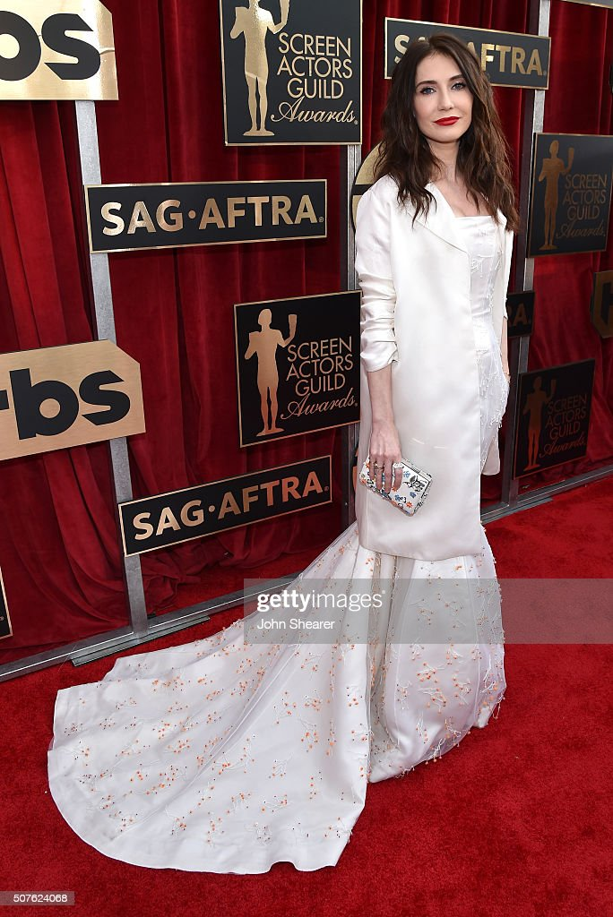 Actress Carice van Houten attends the 22nd Annual Screen Actors Guild Awards at The Shrine Auditorium on January 30, 2016 in Los Angeles, California.