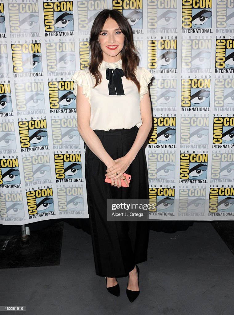 Actress <a gi-track='captionPersonalityLinkClicked' href=/galleries/search?phrase=Carice+van+Houten&family=editorial&specificpeople=2641238 ng-click='$event.stopPropagation()'>Carice van Houten</a> attends the 'Game of Thrones' panel during Comic-Con International 2015 at the San Diego Convention Center on July 10, 2015 in San Diego, California.