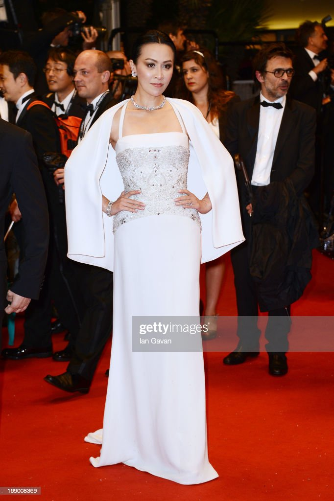 Actress Carina Lau attend the 'Bends' Premiere during The 66th Annual Cannes Film Festival at the Palais des festivals on May 18, 2013 in Cannes, France.