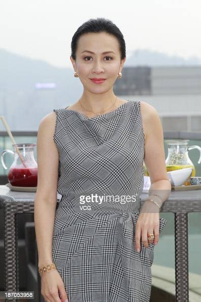 Actress Carina Lau attends 'Bends' press conference at The One on November 5 2013 in Hong Kong Hong Kong