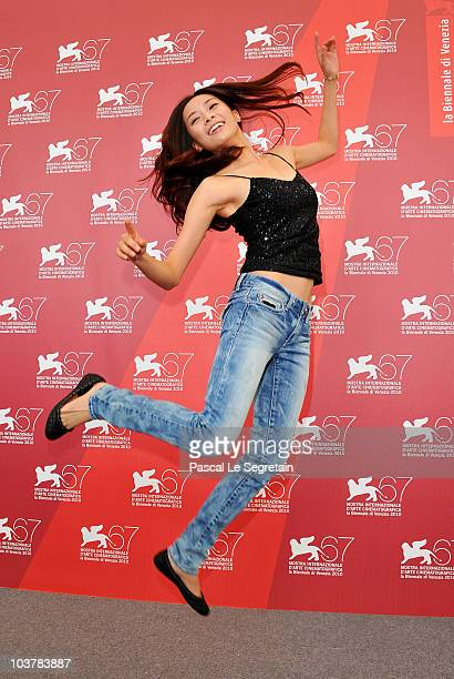 Actress Carina Lau attends the 'Showtime' photocall during the 67th Venice Film Festival at the Palazzo del Casino on September 2 2010 in Venice Italy