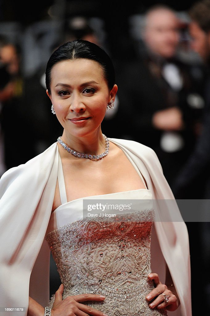 Actress Carina Lau attends the 'Soshite Chichi Ni Naru' Premiere during the 66th Annual Cannes Film Festival at the Palais des Festivals on May 18, 2013 in Cannes, France.