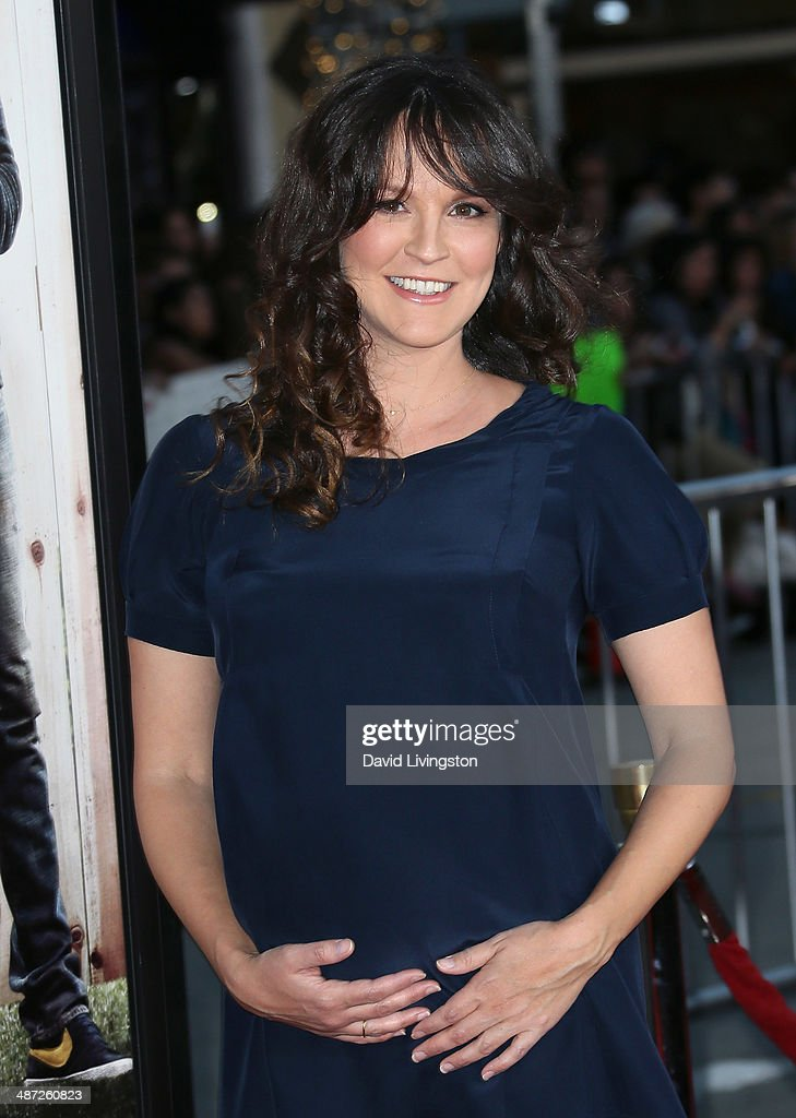 Actress <a gi-track='captionPersonalityLinkClicked' href=/galleries/search?phrase=Carla+Gallo&family=editorial&specificpeople=2276838 ng-click='$event.stopPropagation()'>Carla Gallo</a> attends the premiere of Universal Pictures' 'Neighbors' at Regency Village Theatre on April 28, 2014 in Westwood, California.