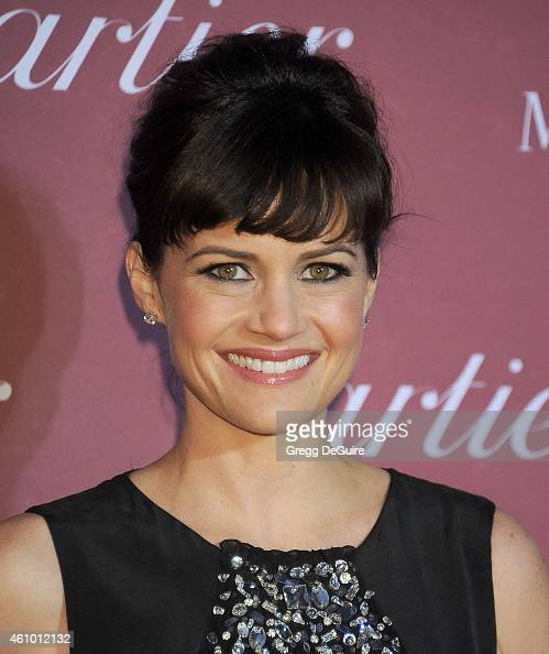 Actress Carla Gugino arrives at the 26th Annual Palm Springs International Film Festival Awards Gala Presented By Cartier at Palm Springs Convention...