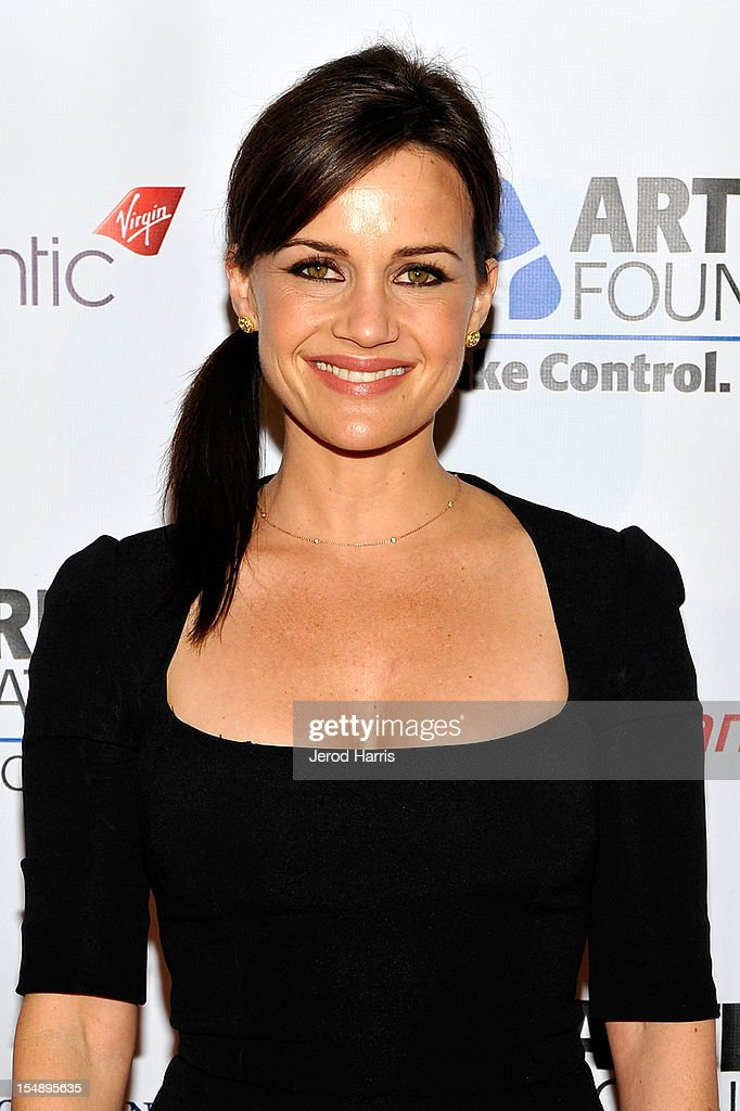 Actress Carla Gugino arrives at the Arthritis Foundation's Annual Gala at The Beverly Hilton Hotel on October 25, 2012 in Beverly Hills, California.