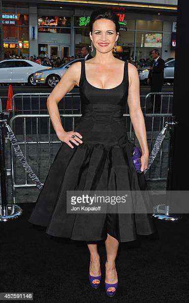Actress Carla Gugino arrives at the Los Angeles Premiere 'Hercules' at TCL Chinese Theatre on July 23 2014 in Hollywood California