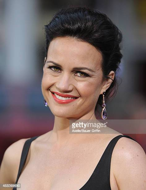 Actress Carla Gugino arrives at the Los Angeles Premiere of 'Hercules' at TCL Chinese Theatre on July 23 2014 in Hollywood California