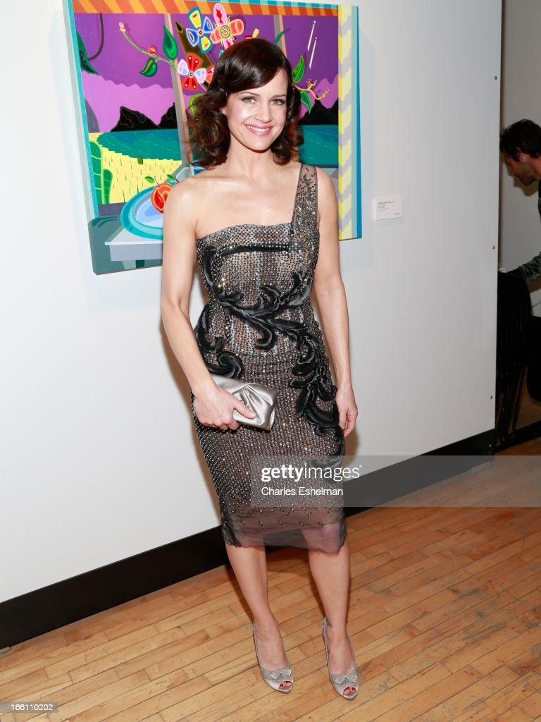 Actress Carla Gugino attends 2013 Tribeca Ball at New York Academy of Art on April 8, 2013 in New York City.