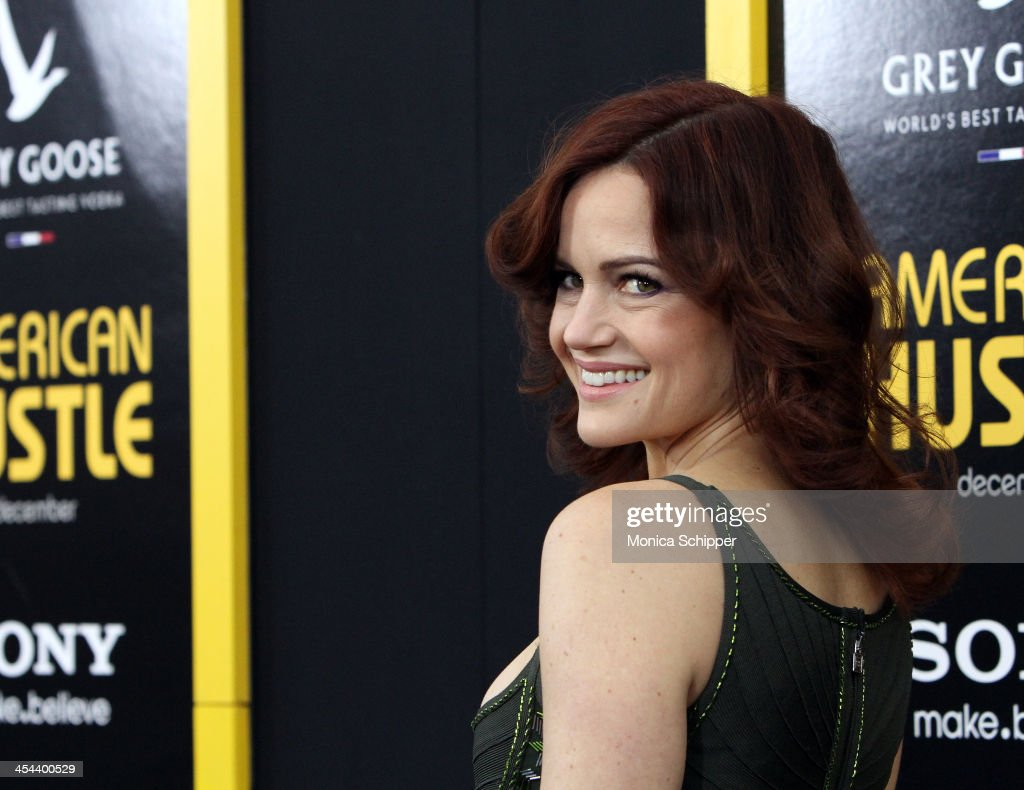 Actress <a gi-track='captionPersonalityLinkClicked' href=/galleries/search?phrase=Carla+Gugino&family=editorial&specificpeople=207137 ng-click='$event.stopPropagation()'>Carla Gugino</a> attends Grey Goose Vodka and Vanity Fair present in part the world premiere of Columbia Pictures And Annapurna Pictures 'American Hustle' at Ziegfeld Theater on December 8, 2013 in New York City.