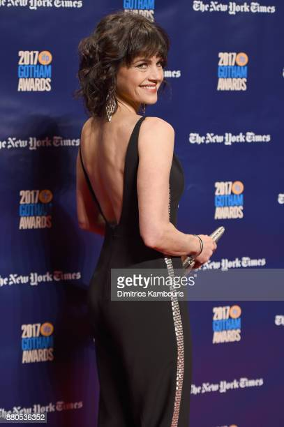 Actress Carla Gugino attends IFP's 27th Annual Gotham Independent Film Awards on November 27 2017 in New York City