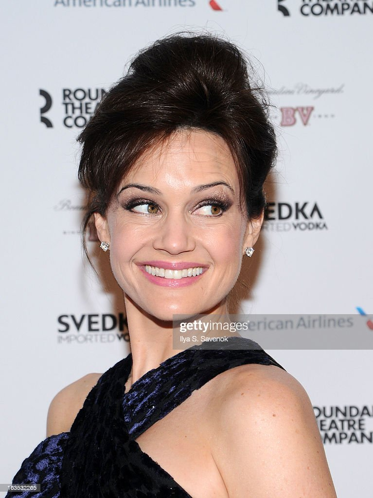 Actress Carla Gugino attends the 2013 Roundabout Theatre Company Spring Gala at Hammerstein Ballroom on March 11, 2013 in New York City.