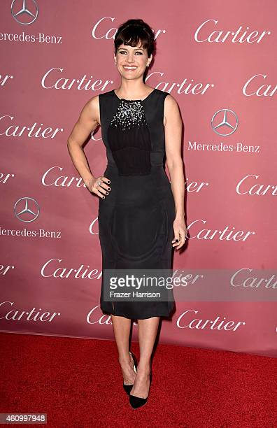 Actress Carla Gugino attends the 26th Annual Palm Springs International Film Festival Awards Gala at Palm Springs Convention Center on January 3 2015...