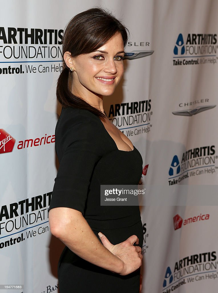 Actress Carla Gugino attends the Arthritis Foundation 'Commitment to a Cure' 2012 Awards Gala at The Beverly Hilton Hotel on October 25, 2012 in Beverly Hills, California.