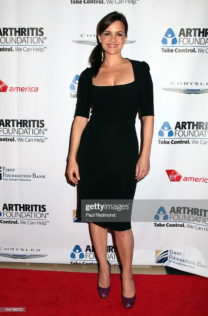 Actress <a gi-track='captionPersonalityLinkClicked' href=/galleries/search?phrase=Carla+Gugino&family=editorial&specificpeople=207137 ng-click='$event.stopPropagation()'>Carla Gugino</a> attends The Arthritis Foundation's Annual Gala Honoring Danny Glover at The Beverly Hilton Hotel on October 25, 2012 in Beverly Hills, California.