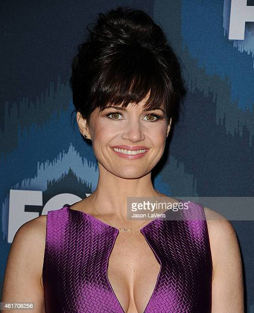Actress Carla Gugino attends the FOX winter TCA AllStar party at Langham Hotel on January 17 2015 in Pasadena California