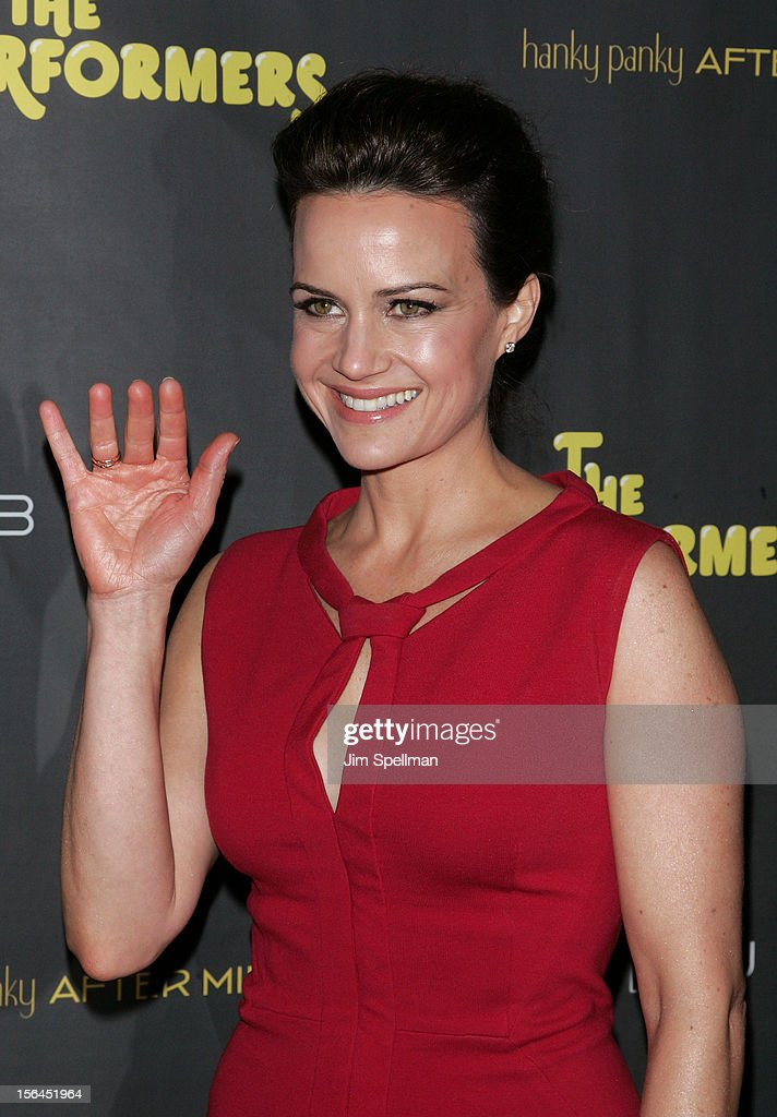 Actress Carla Gugino attends 'The Performers' Broadway Opening Night at the Longacre Theatre on November 14, 2012 in New York City.