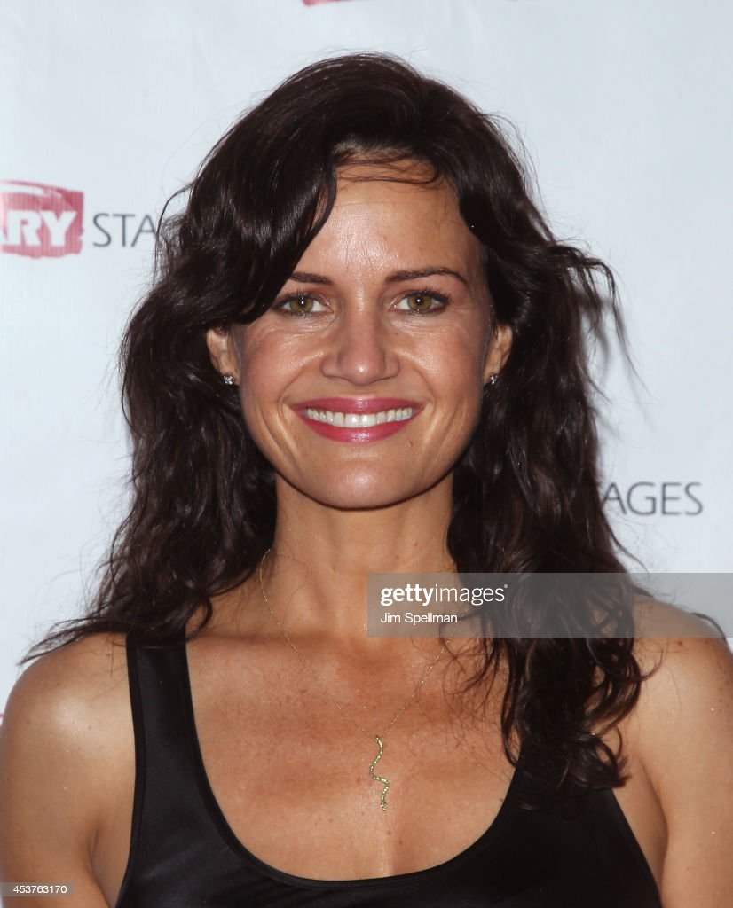 Actress <a gi-track='captionPersonalityLinkClicked' href=/galleries/search?phrase=Carla+Gugino&family=editorial&specificpeople=207137 ng-click='$event.stopPropagation()'>Carla Gugino</a> attends the 'Poor Behavior' Opening Night after party at Casa Nonna on August 17, 2014 in New York City.