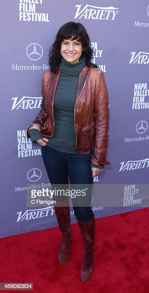 Actress Carla Gugino attends Variety's '10 Producers to Watch' Brunch at The Culinary Institute of America at Greystone College on November 15 2014...