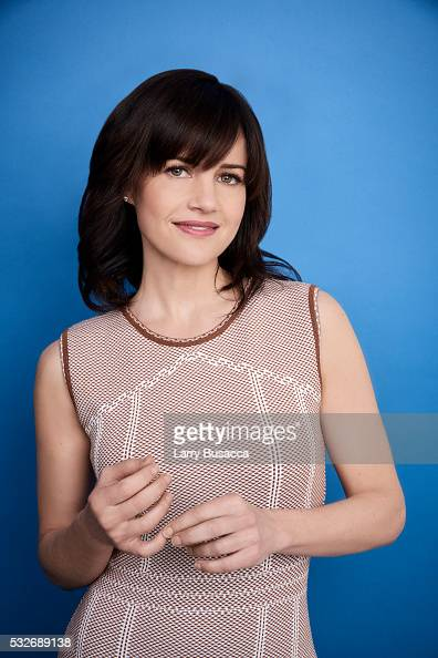 Actress Carla Gugino poses for a portrait at the Tribeca Film Festival on April 15 2016 in New York City