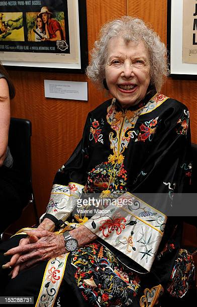 Actress Carla Laemmle attends The Academy Of Motion Picture Arts And Sciences' Opening Night Of 'Universal's Legacy Of Horror' Screening Series at...