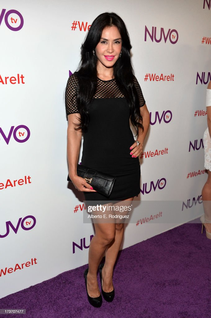 Actress Carla Ortiz arrives at the NUVOtv Network Launch Party at The London West Hollywood on July 16, 2013 in West Hollywood, California.