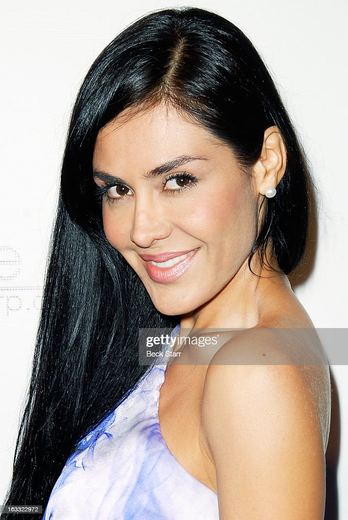 Actress Carla Ortiz at OUT Magazine's celebration of LA fashion week with launch of Out Fashion presented by Lexus at Pacific Design Center on March 7, 2013 in West Hollywood, California.