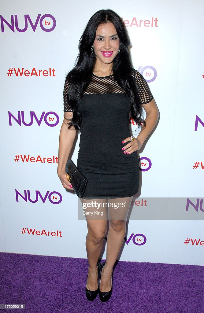 Actress <a gi-track='captionPersonalityLinkClicked' href=/galleries/search?phrase=Carla+Ortiz&family=editorial&specificpeople=2160861 ng-click='$event.stopPropagation()'>Carla Ortiz</a> attends NUVOtv Network launch party at The London West Hollywood on July 16, 2013 in West Hollywood, California.