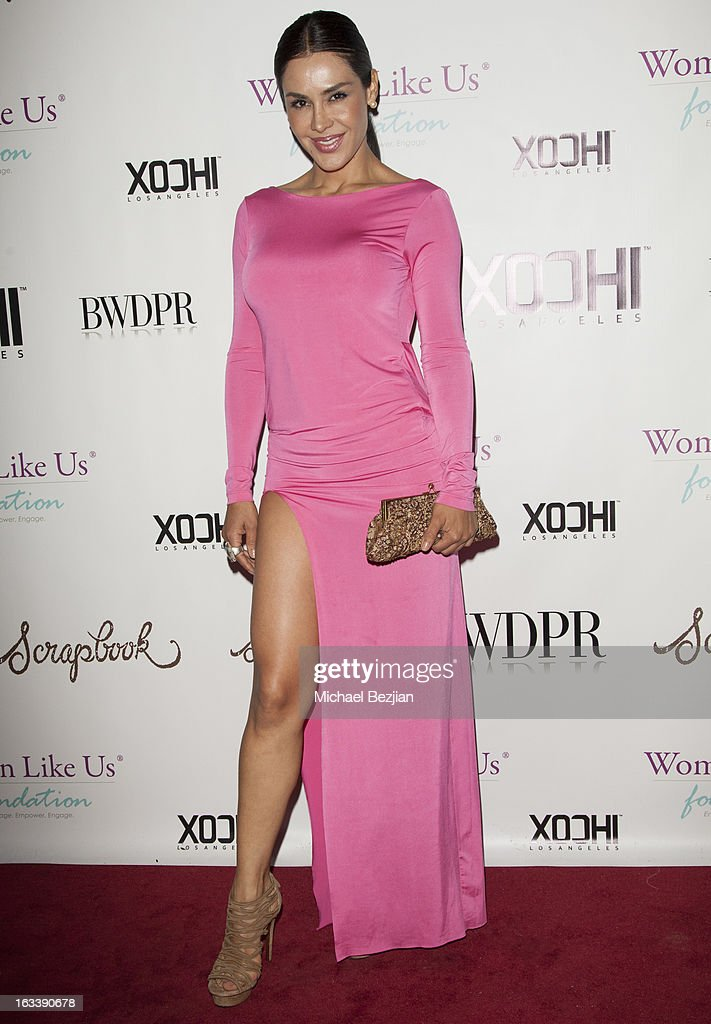Actress Carla Ortiz attends Pre-LAFW Launch Party In Support Of The Women Like Us Foundation at Lexington Social House on March 8, 2013 in Hollywood, California.