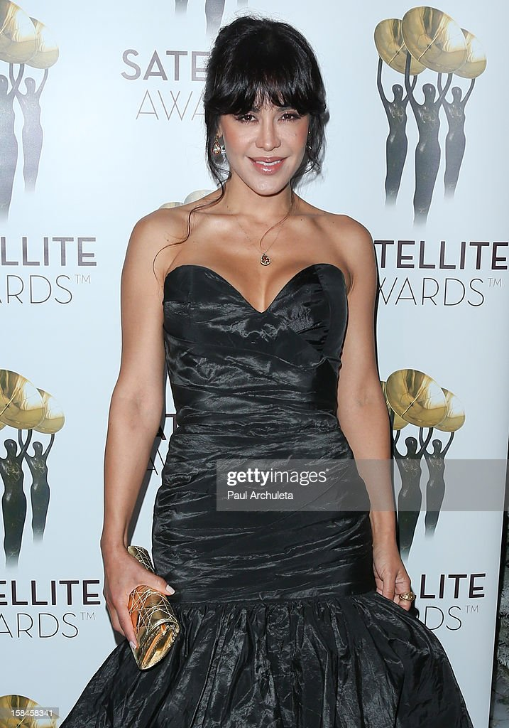 Actress Carla Ortiz attends the International Press Academy's 17th Annual Satellite Awards at InterContinental Hotel on December 16, 2012 in Century City, California.