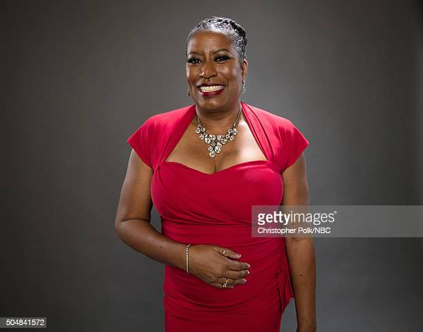 Actress Carlease Burke poses for a portrait during the NBCUniversal Press Day at The Langham Huntington Pasadena on January 13 2016 in Pasadena...