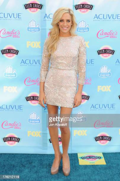 Actress Carly Chaikin arrives at the 2013 Teen Choice Awards at Gibson Amphitheatre on August 11 2013 in Universal City California