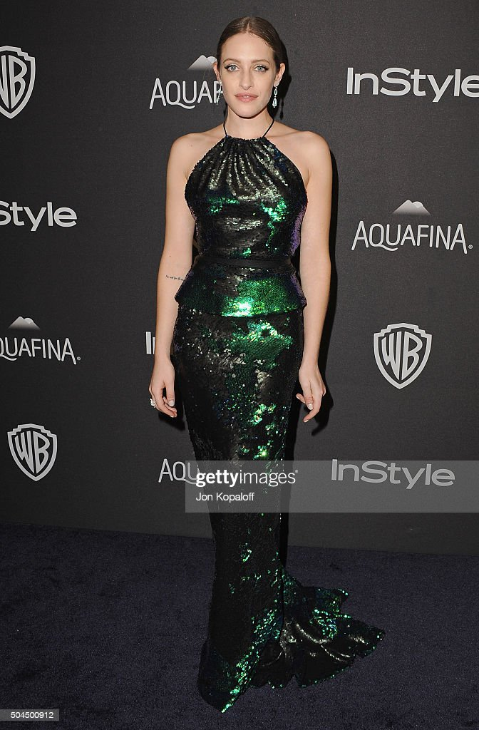 2016 InStyle And Warner Bros. 73rd Annual Golden Globe Awards Post-Party - Arrivals
