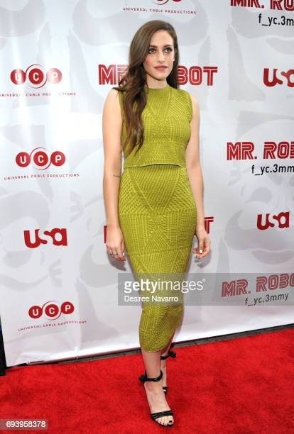 Actress Carly Chaikin attends 'Mr Robot' FYC Screening at The Metrograph on June 8 2017 in New York City